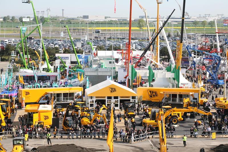INTERMAT 2009 exterieur Stand