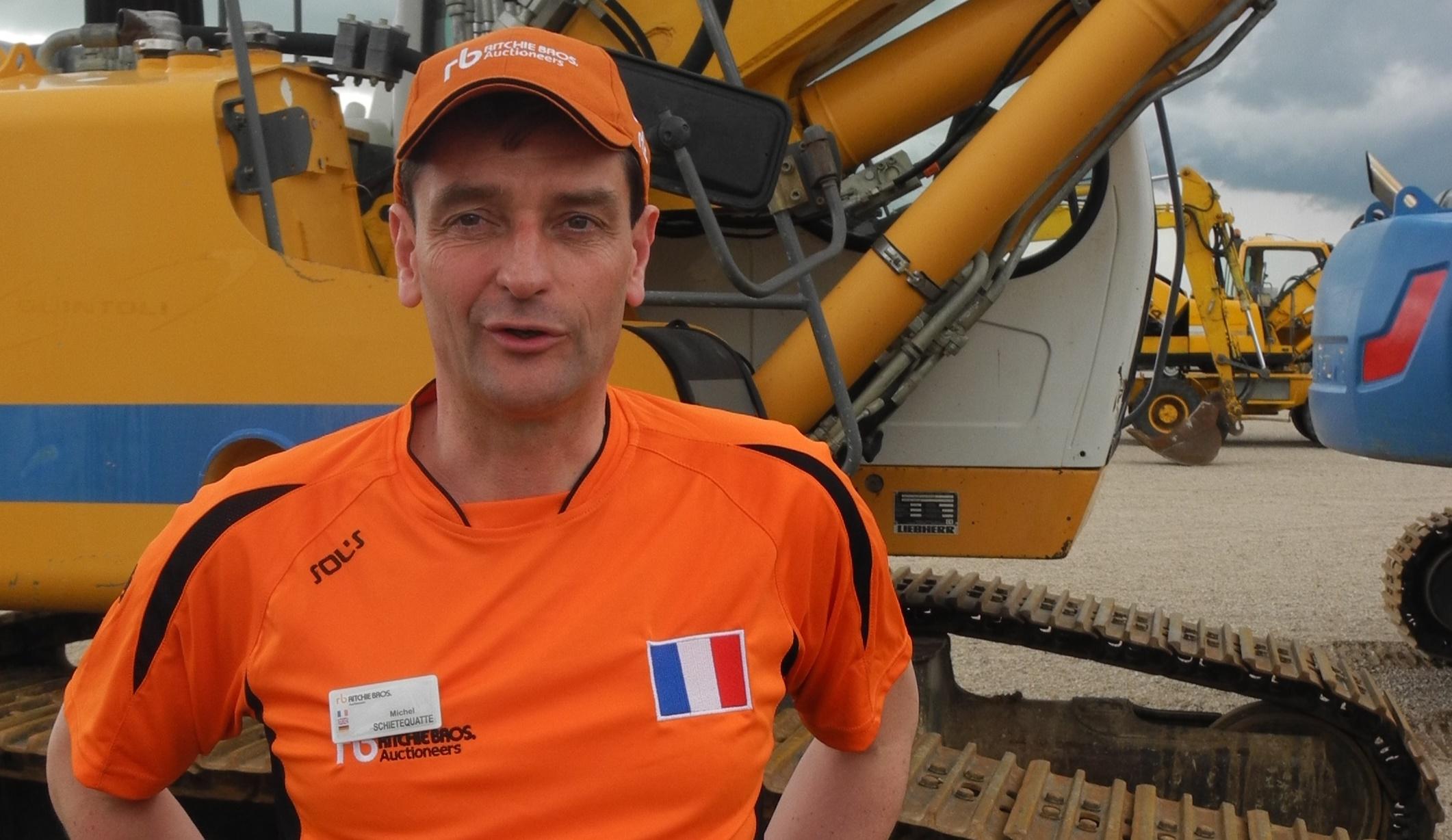 Michel Schietequatte : « Nous voulons développer notre clientèle d'acheteurs utilisateurs finaux. Nous leurs offrons de s'équiper en matériels opérationnels ». Photo Michel Roche